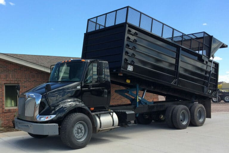 Aulick Ag/Silage/Forage Dump Box - Grain Truck Body