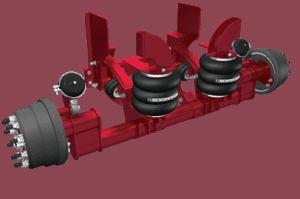 Next Generation 20K Truck Steerable Lift Axle