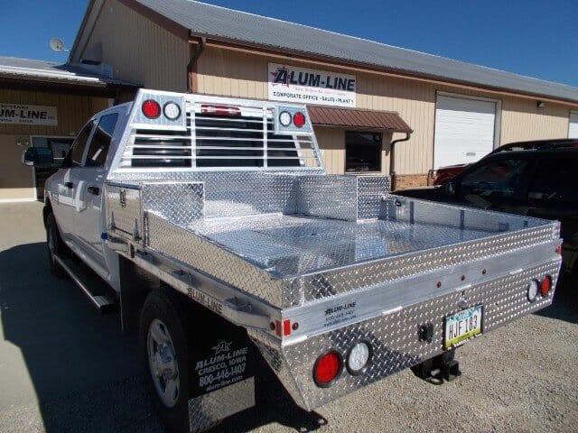 Gooseneck Style Aluminum Truck Beds