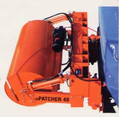 Hydraulic Truck Conveyor, Asphalt Patcher