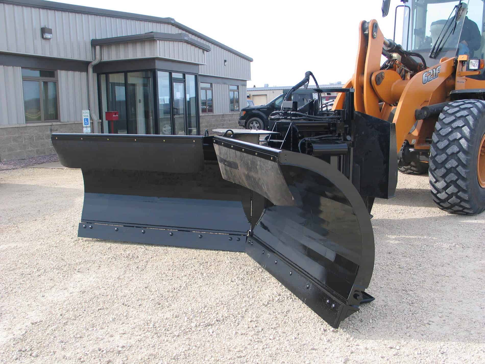 Universal Vee Plow Slider