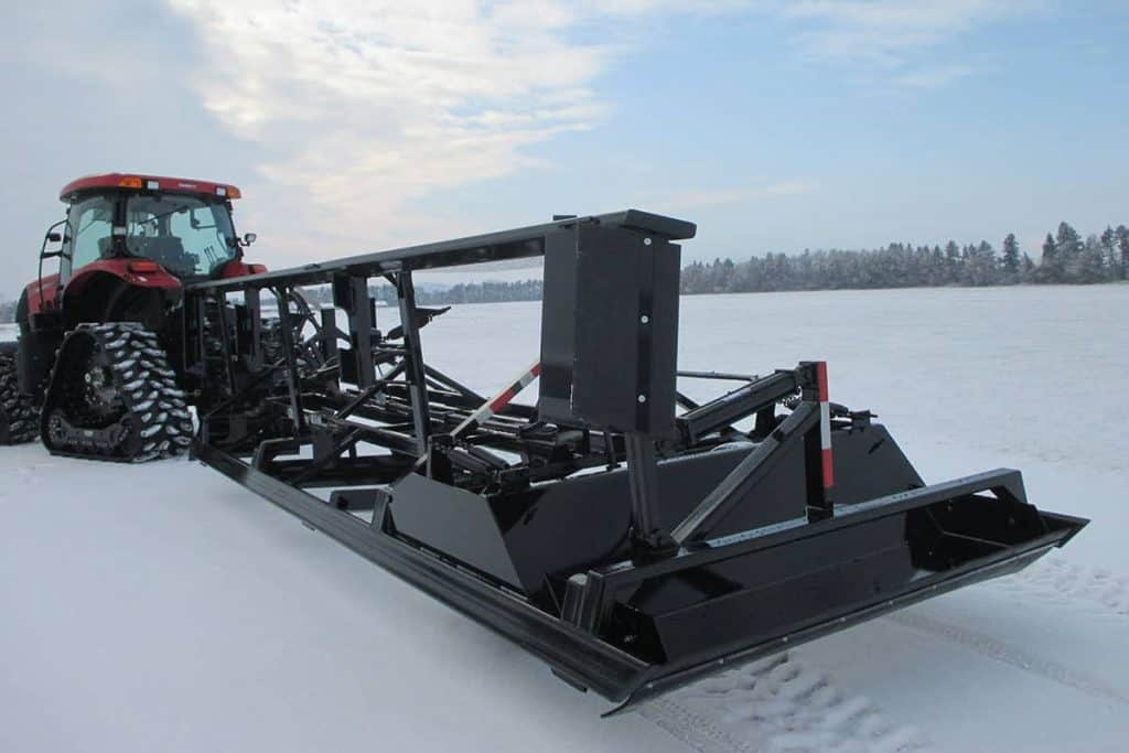 Ultimate Snow Groomer Drag 8ft with Wing