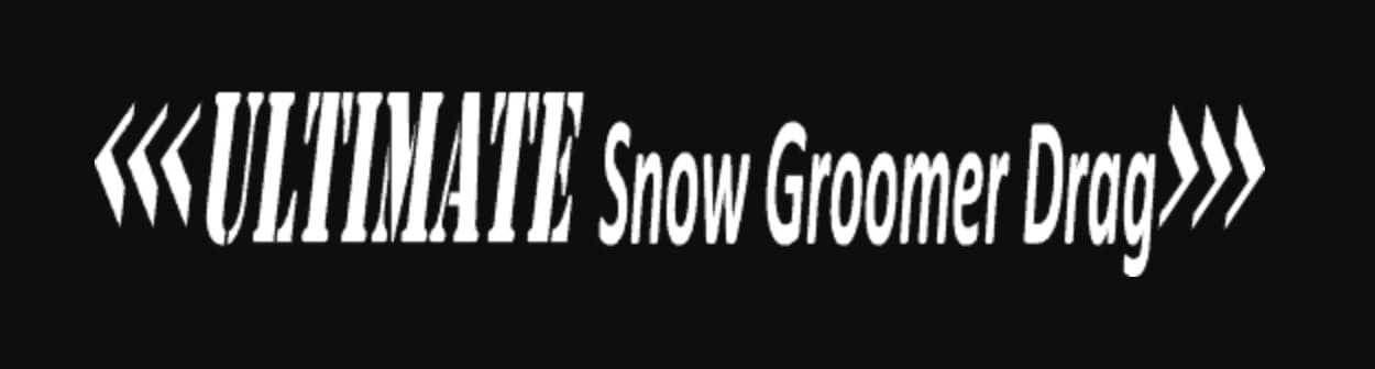 Ultimate Snow Groomer Logo