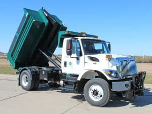MARK E Single Axle Dump Body