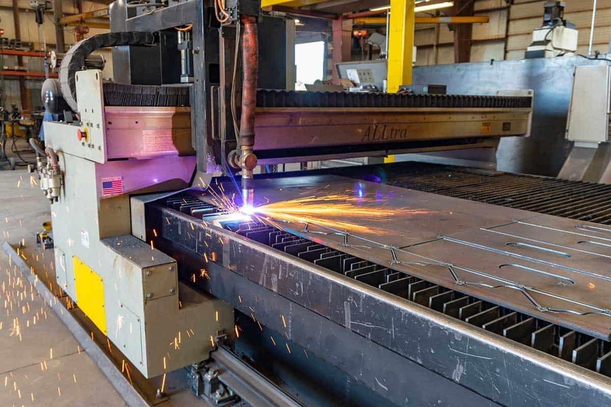 Universal Truck Plasma Cutting