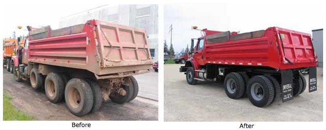 Truck Painting, Commercial Truck Painting, Truck Restoration